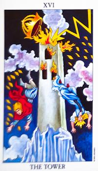 catastrophe Tower Tarot